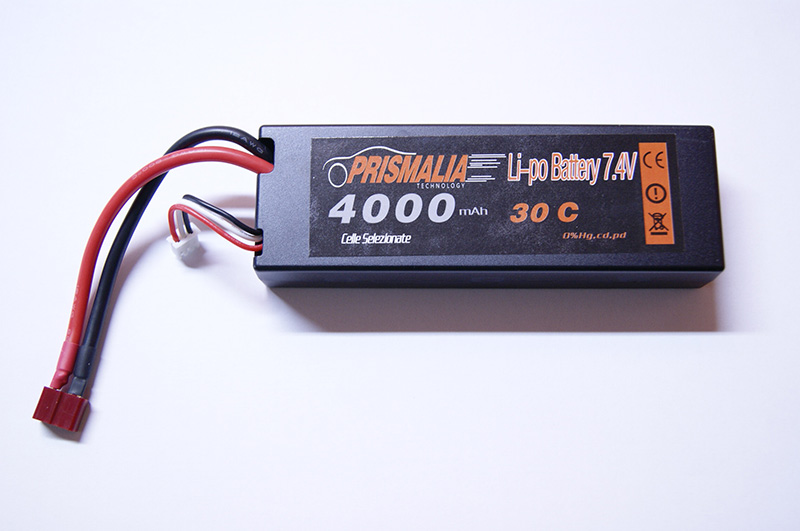 BATTERIA LIPO 7.4V 5400MHA 40C HARD CASE PRISMALIA TECHNOLOGY